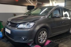 VW TOURAN 2.0 TDI 140 HP