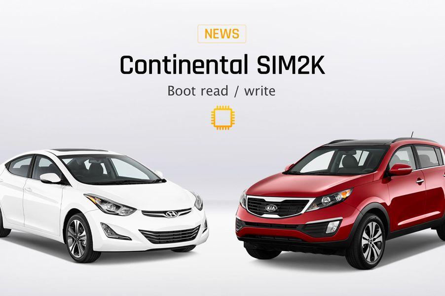 Continental SIM2K Boot READ/WRITE